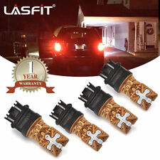 LASFIT 3157 Red LED Tail Brake Turn Signal Light Bulbs for 1990-2017 Ford F-150