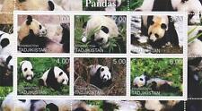 Vida Silvestre Oso Panda Animal frágil 2000 estampillada sin montar o nunca montada SELLO Sheetlet