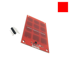 NEW MPR121 Capacitive Touch Keypad Shield module sensitive RED key keyboard