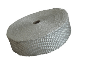 Exhaust heat wrap WHITE for downpipe turbo system manifold heat soak