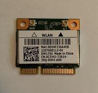 GENUINE Dell Intel Wireless Card WLAN Wifi+Bluetooth 4.0 (A00) DW1705 C3Y4J