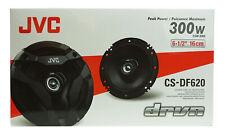 "JVC 6.5"" 2-Way 300W Flush Mount Coaxial  Speakers (2 Pack) - CS-DF620"