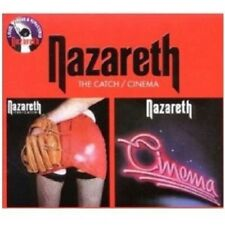 "NAZARETH ""THE CATCH/CINEMA (REMASTER)"" 2 CD NEU"