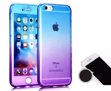 For iPhone 5c 360 degree Front and Back Full Body TPU Silicone Gel Case Cover BP
