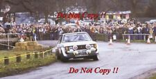 Henri Toivonen & Fred Gallagher Talbot Sunbeam Lotus RAC Rally 1981 Photograph 3
