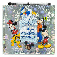 Disneyland Mickey Mouse & Friends Deluxe Photo Album & Autograph Book New
