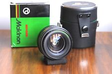 MAKINON (Pentax PK Bayonet) Multi - Coated 28mm f/2.8 Lens  w/ Case , Japan