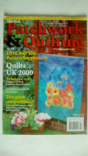 British Patchwork & Quilting Magazine July 2000 WITH PATTERN STILL ATTACHED