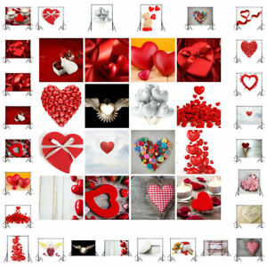 Creative Love Heart Photo Prop Backdrop Wedding Lover Photography Background