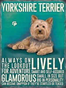 Yorkshire Terrier Imán de Nevera (Og)