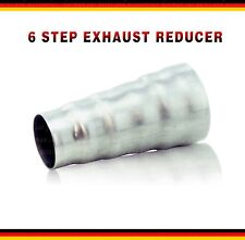Quality Steel exhaust adapter 6 step reducer connector tube
