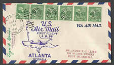 1949 COVER PREXY #839 STRIP OF (6) PAYS FIRST FLIGHT AIR MAIL RATE SEE INFO