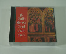 Worlds Greatest Choral Masterpieces CD Set of 3 ^ 1989