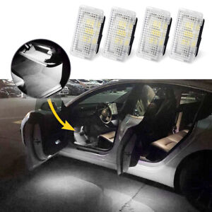 4Pcs Tesla Interior LED Light Ultra-Bright Ambient Upgraded Kit For Model 3 S X