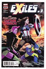 Exiles #3 (2018, Marvel) Peggy Carter What If NM