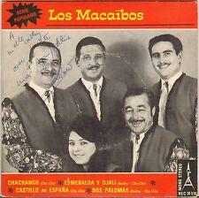 "LOS MACAÏBOS ""CHACHANGO"" LATIN JAZZ 60'S EP AFA 10516"