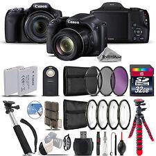 Canon PowerShot SX530 HS Camera + Spider Tripod + Monopad + EXT BAT - 32GB Kit