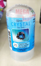 Crystal pure natural alum stick deodorant antiperspirant no fragrance no color