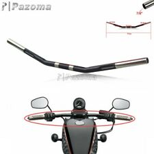 "Motorcycle 1"" Drag Bar Handlebar For Harley Sportster XL 883 1200 Softail 07-Up"