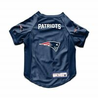 NEW ENGLAND PATRIOTS DOG CAT DELUXE STRETCH JERSEY SMALL