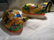 """Vintage Easter Egg """"Ducks playing instruments� Made in West Germany"""