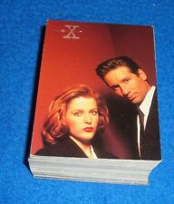 1996 The X-FILES TRADING CARD 72 BASE SET