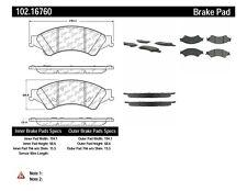 Disc Brake Pad Set-C-TEK Metallic Brake Pads Front Centric fits 2013 Ford Ranger