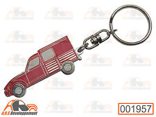 PORTE CLE / KEY HOLDER - Citroen ACADIANE - ROUGE / RED  -1957-
