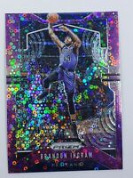 2019-20 Panini Prizm Fast Break Disco Pink Purple #ed /75 Brandon Ingram SP Mint