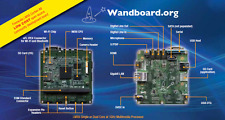Wandboard Solo NXP i.MX6 Kodi Linux Android ARM Cortex-A9 1GHZ 512 MB PI Arduino