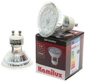230V GU10 SMD LED 6er 1.5W=20W Warmweiß Neutralweiß Birne Lampe 50mm