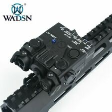 Wadsn Dbal-A2 Metal Green Ir Aiming Laser Hunting Strobe Light Wd06014 Black
