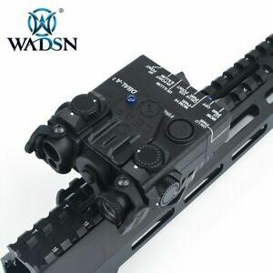 WADSN DBAL-A2 Metal Green IR Aiming Laser Hunting Strobe Light WD06014 Black