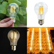 LED Edison Light Bulb 6W A19 Vintage Industrial Filament Lighting Energy Saving