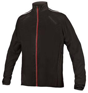 Endura Pakajak Pocket Rain Cycling Jacket Black (Size Large Only)