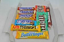 American Snickers, M&M's & Bars Candy Selection Letterbox Free UK Delivery