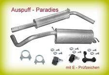 CGGB 2010-2014 Auspuffanlage R75B Auspuff SKODA FABIA 1.4 Motor