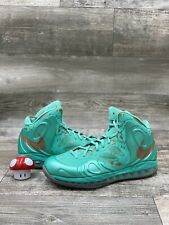 Nike Air Hyperposite Foamposite Statue of Liberty Teal Copper Size 11 524862-301