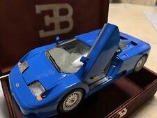 Bugatti 11 EB 110 11GB 1/18 Box 1991 Blau Bburago 1:18 Burago Modellauto Diorama