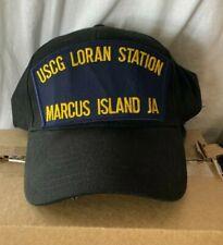 New hat cap Uscg Us Coast Guard Uscg Loran Station Marcus Island Japan