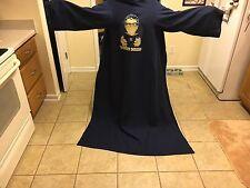 The Word Nerd Pastor/Preacher/Clergy Navy Snuggie Blanket