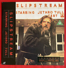 Laserdisc Jethro Tull Slipstream Japan Pressung / Musik / RAR