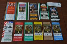 Nice Boxing Ticket Collection! Must See! 13 Tickets! Must See!