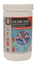 CHLORE CHOC PISCINE EN PASTILLE 20G / BOITE 1 KG désinfection traitement choc