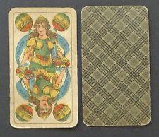 Antique German Playing Cards Prussia Pattern Vtg Skat