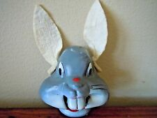 Vintage Bugs Bunny Puppet Head W/ Felt Ears