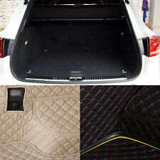 PU Leather Rear Trunk Cargo Liner Protector Mat Seat Back Cover For VW Touareg