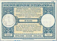 61040 - COUPON RESPONSE INTERNATIONAL London Model: FINLAND 1963