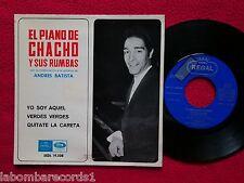 """EL PIANO DE CHACHO Y SUS RUMBAS yo soy aquel 7"""" ep regal 1966 spain (ex-/ex-) 4"""