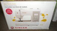 New Singer Confidence 7470 Computerized Sewing Machine Auto Thread 173 Stitches